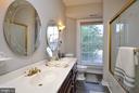 Second level full bathroom - 611 CAROLINE ST, FREDERICKSBURG