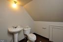 3rd level bathroom - 611 CAROLINE ST, FREDERICKSBURG