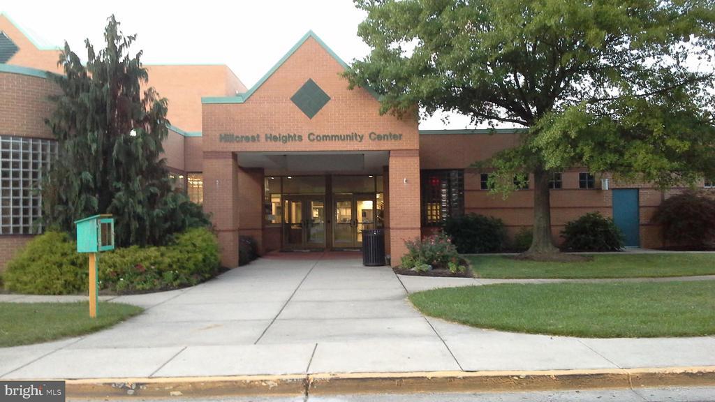 Community Center #1 - 3111 28TH PKWY, TEMPLE HILLS