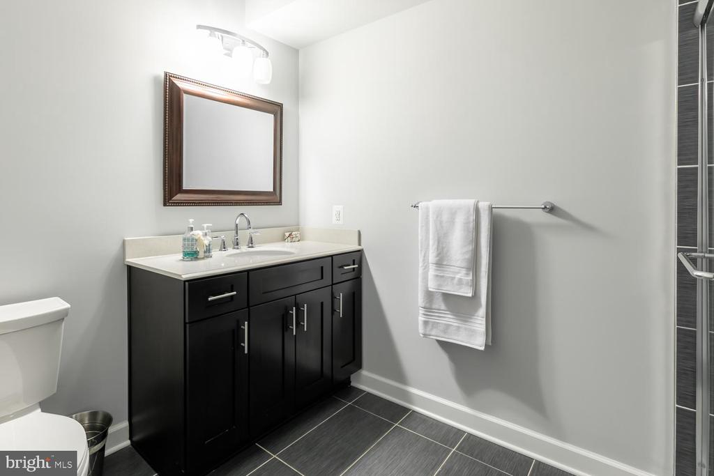 Basement guest bath - 18700 RIVERLOOK CT, LEESBURG