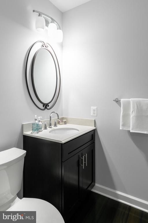 Basement half bath - 18700 RIVERLOOK CT, LEESBURG