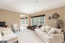 Sitting Room in Master Suite - 18700 RIVERLOOK CT, LEESBURG