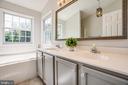 Dual vanities and a great soaking garden tub - 5 ANTIETAM LOOP, STAFFORD