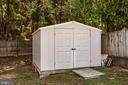 Storage shed with convenient ramp - 5 ANTIETAM LOOP, STAFFORD