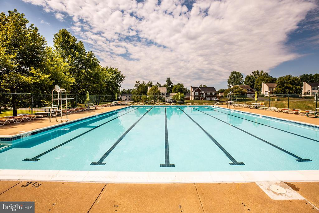 Large inground pool - 5 ANTIETAM LOOP, STAFFORD
