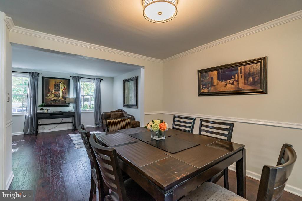 Dining Room with Living room view - 7923 GRIMSLEY ST, ALEXANDRIA