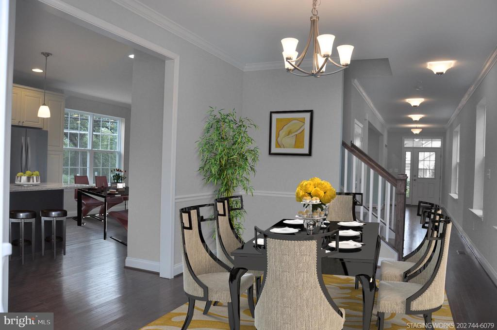 FORMAL DINING ROOM - 15 BELMONT CT, SILVER SPRING