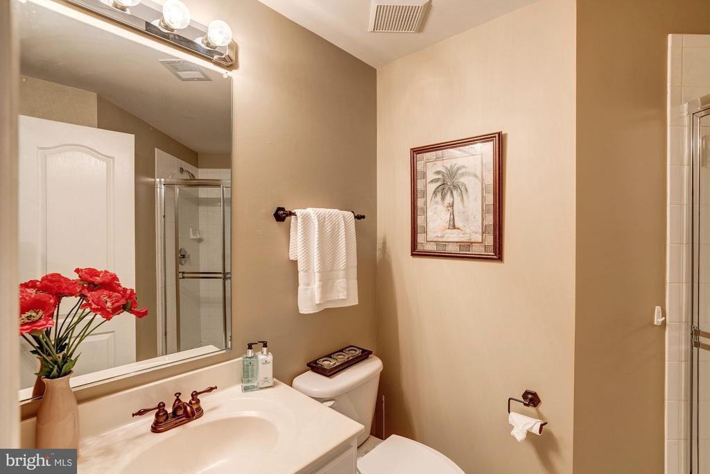 Lower level full bath - 47834 SCOTSBOROUGH SQ, POTOMAC FALLS