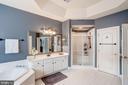 Separate shower and walk in closets - 47834 SCOTSBOROUGH SQ, POTOMAC FALLS
