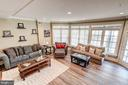 Huge fully finished lower level,  high ceilings - 47834 SCOTSBOROUGH SQ, POTOMAC FALLS