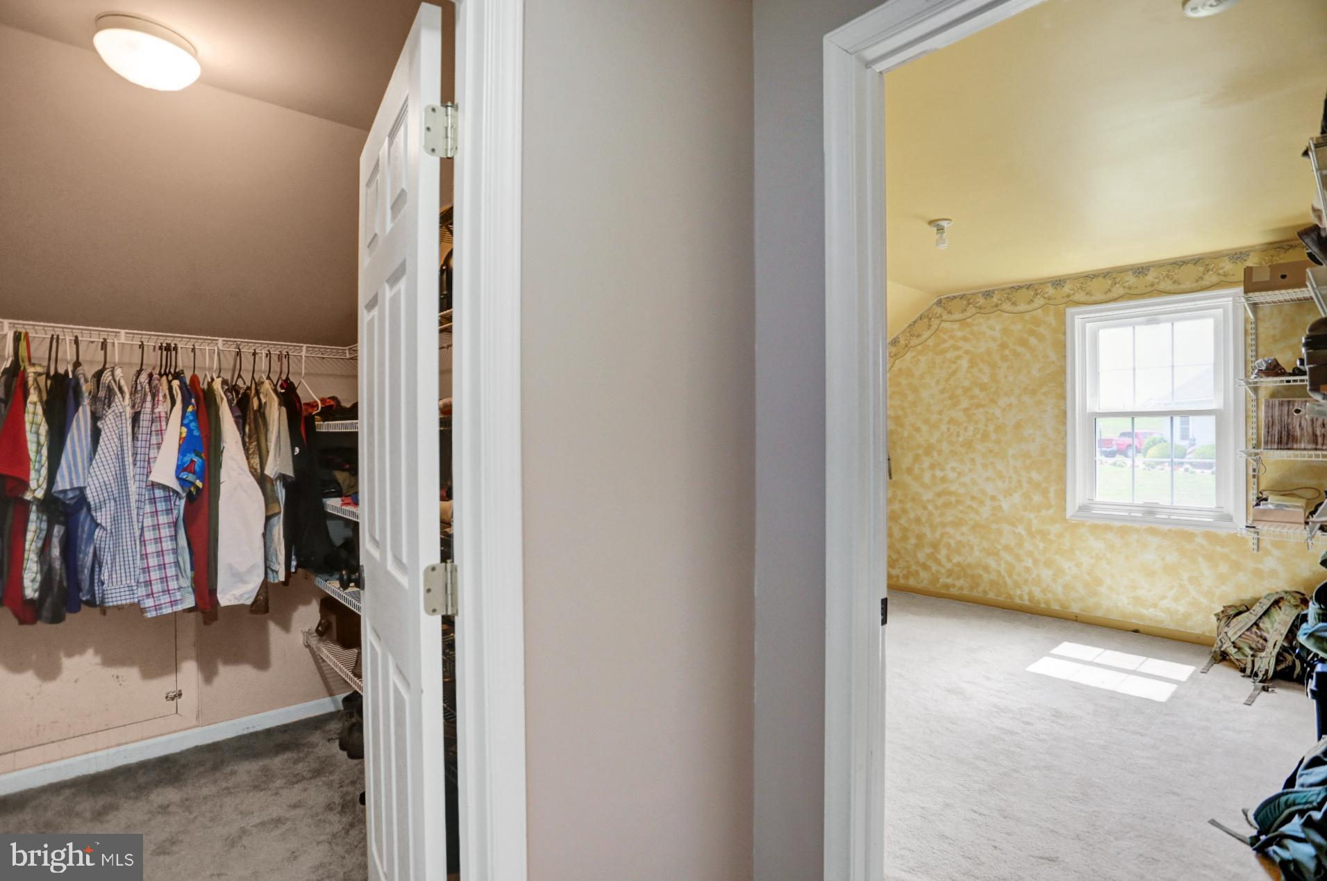 Master Bedroom Walk in Closet and Dressing Area