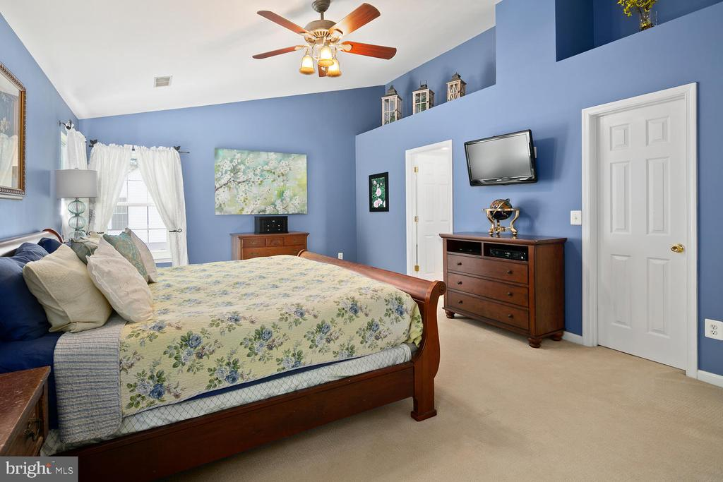 Master Bedroom with grand ceilings - 21332 MARSH CREEK DR, BROADLANDS