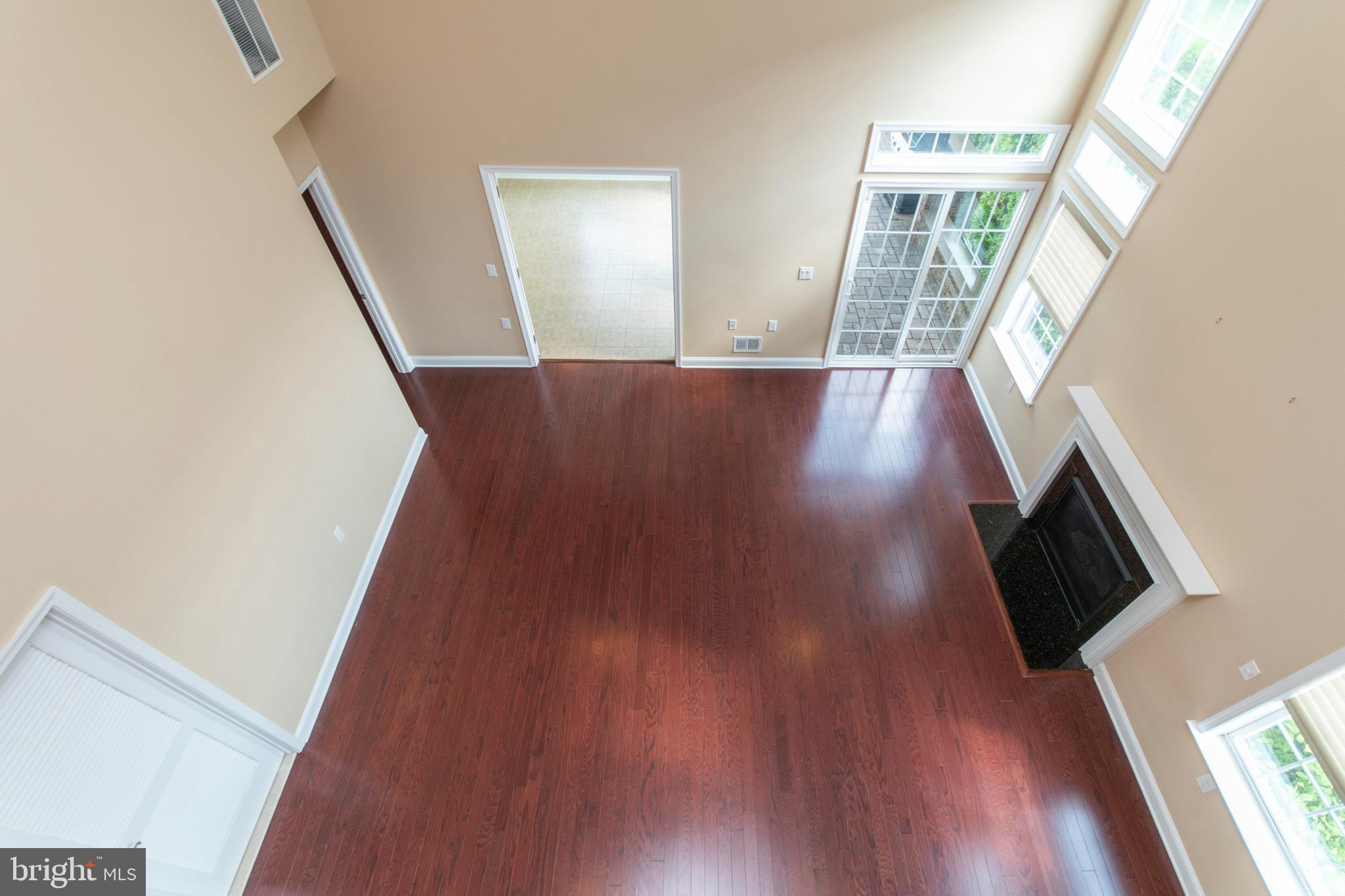 View from loft of Family Room