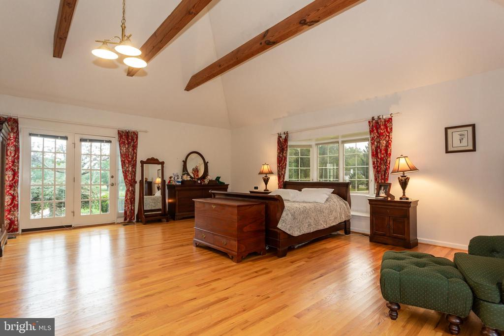 Excellent Views Of Property From Master Bedroom - 6401 STALLION RD, CLIFTON