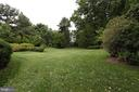 Spacious Private Backyard Area Surrounded By Trees - 6401 STALLION RD, CLIFTON