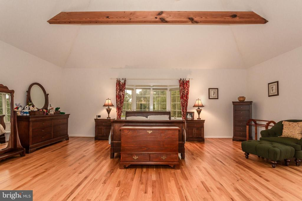 Spacious Grand Master Bedroom-Beautiful Hardwoods - 6401 STALLION RD, CLIFTON