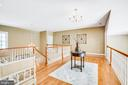 Upstairs landing - 11305 HONOR BRIDGE FARM CT, SPOTSYLVANIA