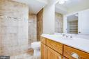 Basement bathroom - 11305 HONOR BRIDGE FARM CT, SPOTSYLVANIA