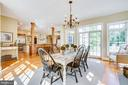 Breakfast room - 11305 HONOR BRIDGE FARM CT, SPOTSYLVANIA