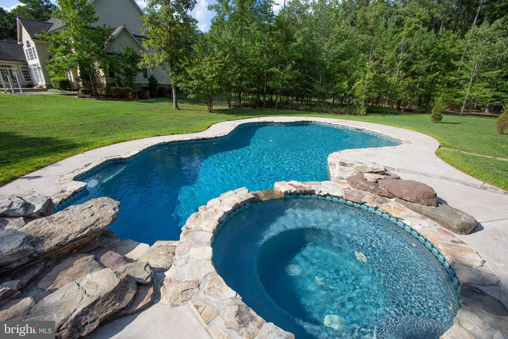 Water fall is remote control operated! - 11305 HONOR BRIDGE FARM CT, SPOTSYLVANIA