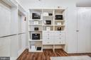 Master walk-in closet - 11305 HONOR BRIDGE FARM CT, SPOTSYLVANIA
