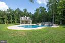 Pool house & pool - 11305 HONOR BRIDGE FARM CT, SPOTSYLVANIA