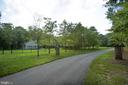 Amazing driveway into the property! - 11305 HONOR BRIDGE FARM CT, SPOTSYLVANIA