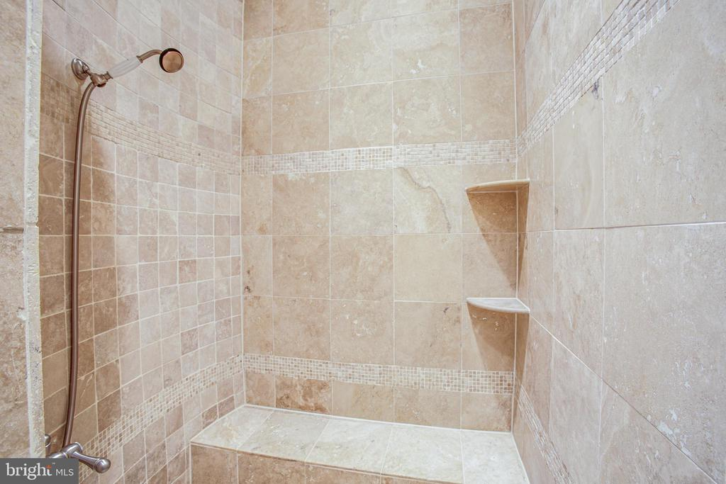 Oversized walk-in shower! - 11305 HONOR BRIDGE FARM CT, SPOTSYLVANIA