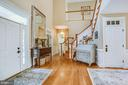 Two story foyer! - 11305 HONOR BRIDGE FARM CT, SPOTSYLVANIA