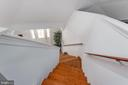 Stairs down to Living Room From Master Loft - 1010 LAKEVIEW PKWY, LOCUST GROVE