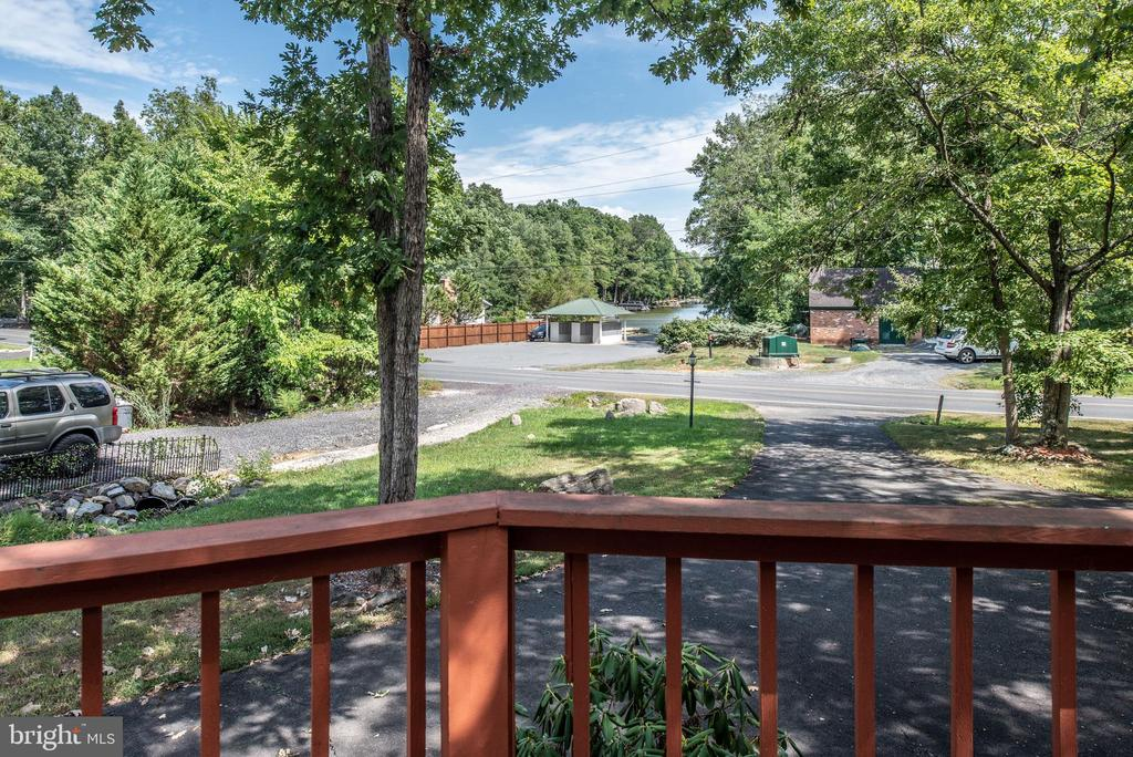 View from Deck to Road - 1010 LAKEVIEW PKWY, LOCUST GROVE