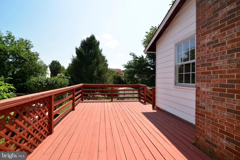 Large Deck for Entertaining - 218 WILDMAN ST NE, LEESBURG