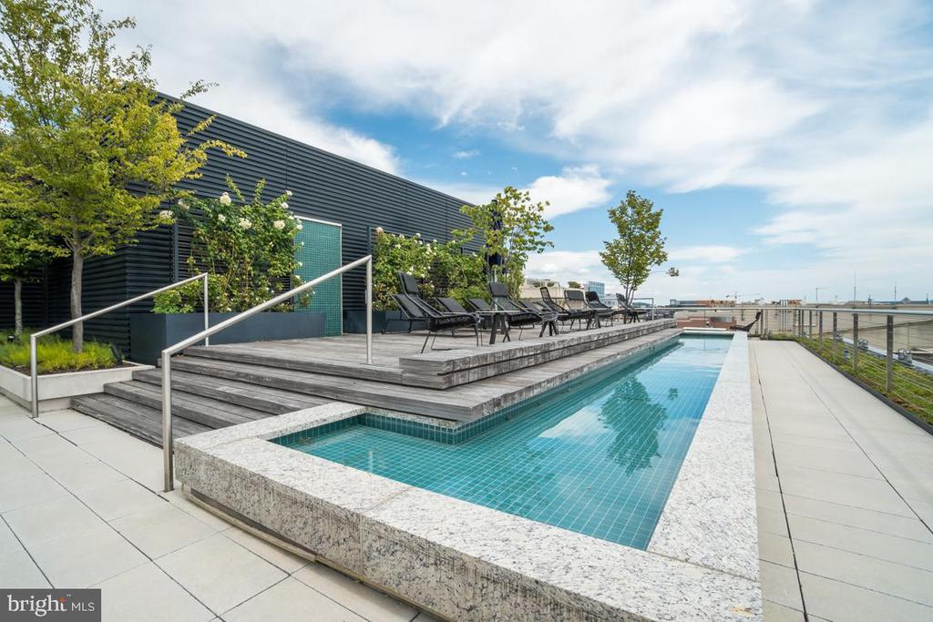 RoofTop Pool - 925 H ST NW #802, WASHINGTON