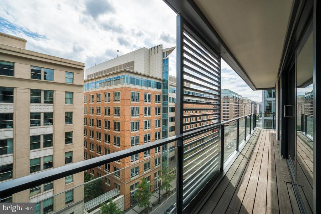 Private Unit Balcony - 925 H ST NW #802, WASHINGTON