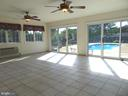 Spectacular 20'x18' Sunroom  w/ poolside entrances - 701 SPRING VALLEY DR, FREDERICKSBURG