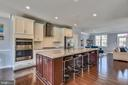 Gorgeous kitchen w/ Granite & Stainless Steel Apps - 42648 LANCASTER RIDGE TER, CHANTILLY