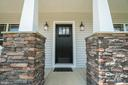 Beautiful stone pillars - 705 KESWICK DR, CULPEPER