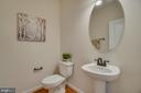 Powder Room - 705 KESWICK DR, CULPEPER