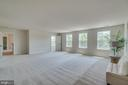 Master bedroom with a ton of natural light. - 705 KESWICK DR, CULPEPER