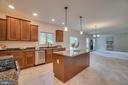 Open concept with recessed lighting - 705 KESWICK DR, CULPEPER