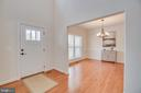 Beautiful hardwood floors - 705 KESWICK DR, CULPEPER