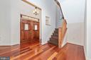 Steps to ensuite and gorgeous front door - 9708 WOODLAKE PL, NEW MARKET