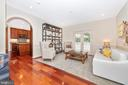 Sitting room or dining room off kitchen - 9708 WOODLAKE PL, NEW MARKET