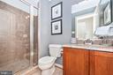 Full bath in basement - 9708 WOODLAKE PL, NEW MARKET