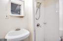 Lower level bathroom - 8506 SADDLE CT, MANASSAS