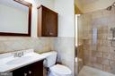 Remodeled master bath - 8506 SADDLE CT, MANASSAS