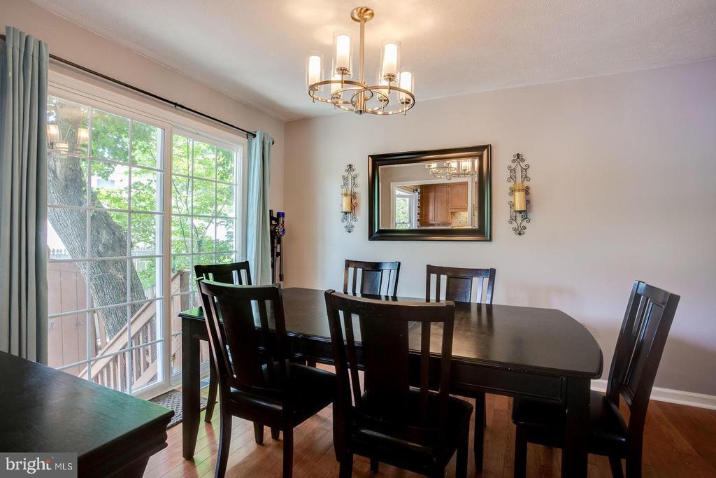 Dining room - 8506 SADDLE CT, MANASSAS