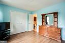 Master with lots of closet space - 8506 SADDLE CT, MANASSAS