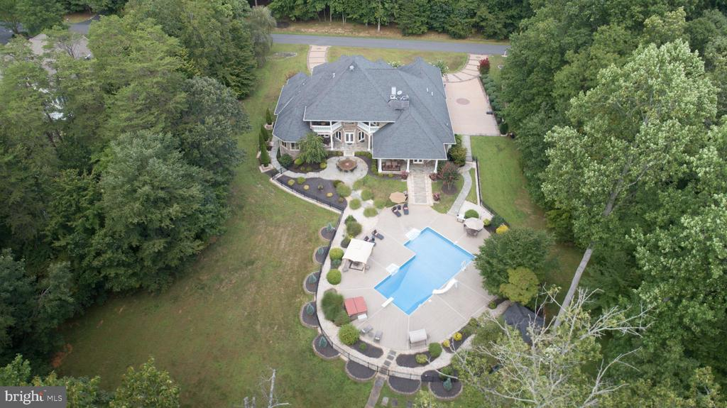Aerial View - 9 WINNING COLORS RD, STAFFORD