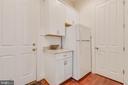 Mud Room, Coat Closet, and Fridge - 3003 WEBER PL, OAKTON